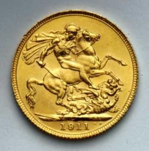 sterlina oro